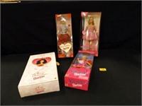 Valentine Barbies - 4 count