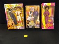 Celebrity Dolls - 3 count