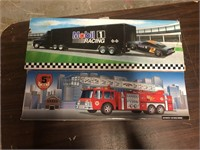 TEXACO AND MOBIL TRUCK