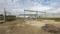LAND AND BUILDINGS - SECURED & FENCED
