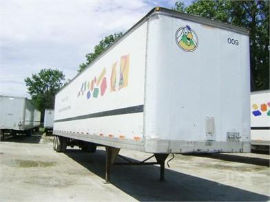 Dry Van Trailers For Sale In Illinois - 439 Listings | TruckPaper