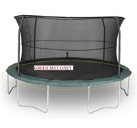 BAZOONGI 15FT TRAMPOLINE MAT GREEN (ONLY)