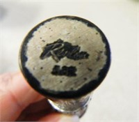 Lipstick Case w/Rhinestones on end; Revlon