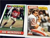 Football Cards-10; 1987;1988; 1990; 1991; 2000
