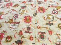 Quilt; Hand-tied; Same fabric-front & back