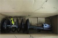 Monroe 172114 Complete Strut Assembly Toyota Cor