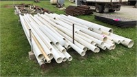 Various PVC pipe Schedule 40