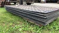 4 x 8 mud mats