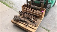 Assortment of well drilling recovery tools