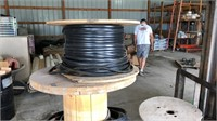 Pallet of submersible pump wire