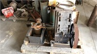 Miscellaneous old motors and pumps