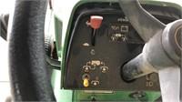 John Deere 318 riding lawnmower (runs &  drives)