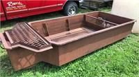 10 foot mud box