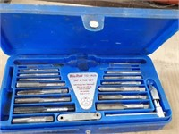 Blue Point tap and die set with double hex,
