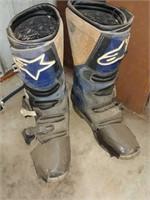 Alpine star Motocross boots, size 12