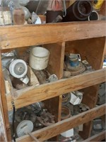 Parts bin contents included, including hoses