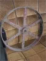 Wheel: 15 inch diameter