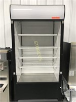 True - Grab and Go Open Face Cooler With Security