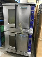 Garland Double Stacked Nat Gas Convection Ovens