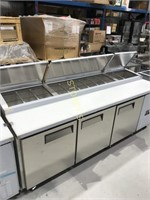 """Pizza Table - 93"""" New - With Warranty - Similar to"""