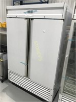 New Reach In Refrigerator - Stainless Steel Inside