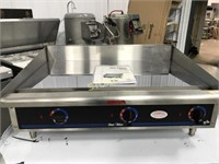 Star Max Electric Mirror Top Griddle - NEW/Old Sto