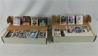 4 Boxes Of Sports Cards Baseball Football Basket