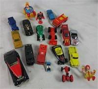 Toy Lot Diecast Cars Gumby Batman & More