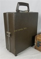 Vintage Wood Pepsi Crate & Hardcase Bottle Case