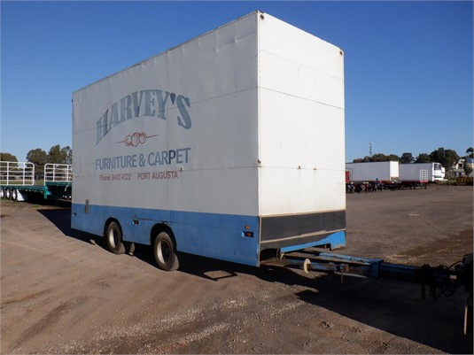 1993 Barry Stoodley Furniture Pantech Trailer - Trailers for Sale