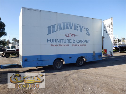 1993 Barry Stoodley Furniture Pantech Trailer Grays Bendigo - Trailers for Sale