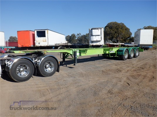 2005 Krueger Skeletal Trailer Trailers for Sale