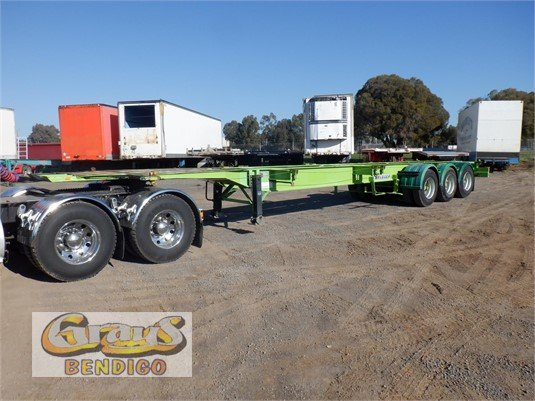2005 Krueger Skeletal Trailer Grays Bendigo - Trailers for Sale