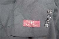 """Men's Black Suit Size 38R (pants 32"""" x32""""L)"""