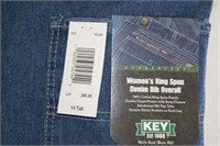 KEY Overalls Size 14Tall