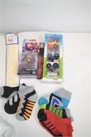 Socks, Toys, etc.