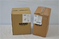 Pair of Nuvo Cube Lanterns