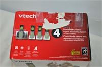 V-Tech 4 Handset Cordless Phone