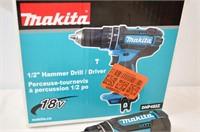 """Makita 18V 1/2"""" Hammer Drill"""