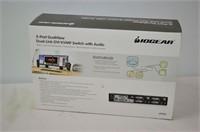 Iogear 2 Port Dual View KVM Switch