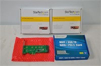 StarTech and Iocrest Adapter Cards