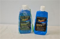(2) Bottles Meguires Cleaner Wax