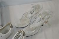 (2) Pair Women's Shoes - Size 8 & 10