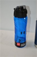 Under Armour and Kleen Canteen Water Bottles