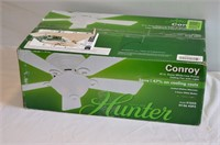 "Hunter Conroy 42"" White Ceiling Fan"