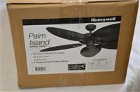 """Honeywell Palm Island 52"""" Ceiling Fan"""