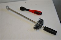 Torque Wrench and Ratchet