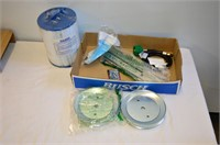 Box of Assorted Hardware - Filter, Drawer