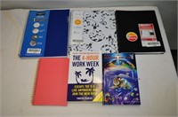 Grp, of Planers, Notebooks, Books