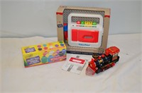 Fisher Price Tape Recorder,, Train, Crayola